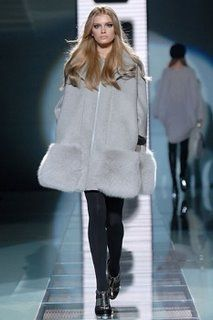 Cappotto Versace a campana